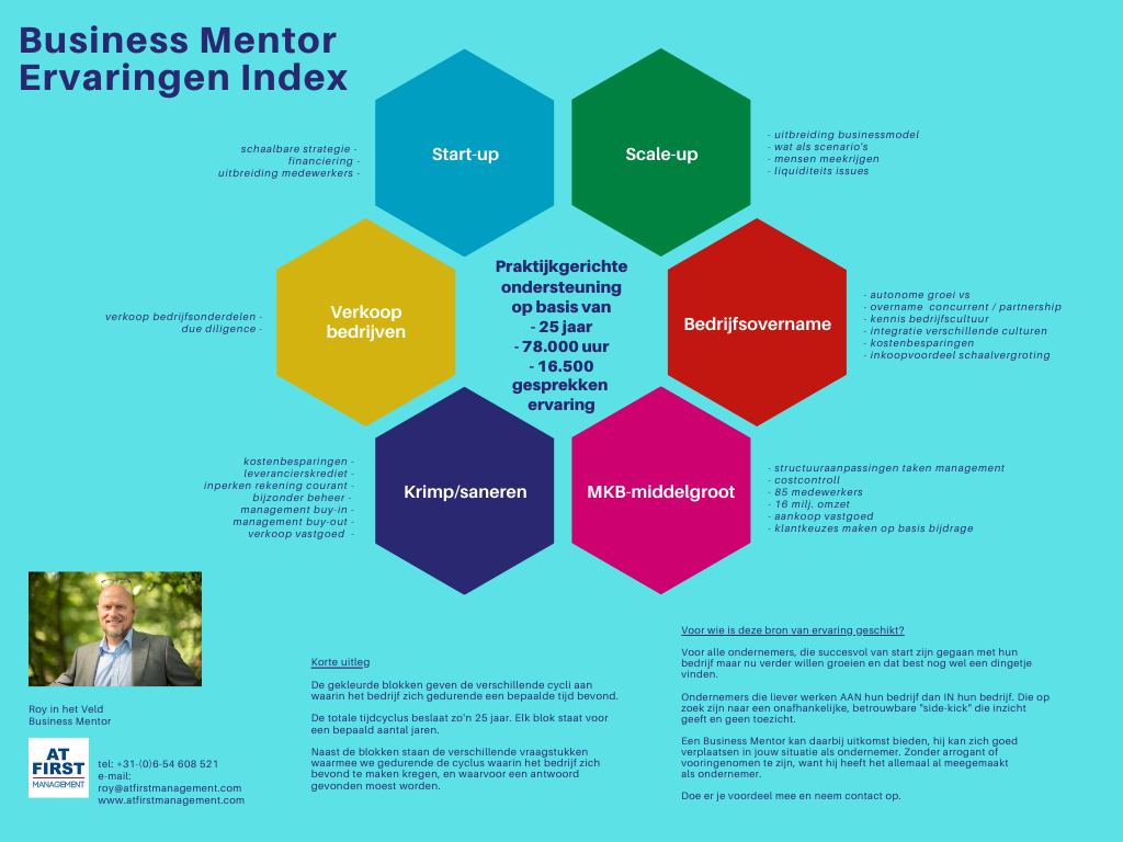 business mentorAt First Managementbusiness mentor