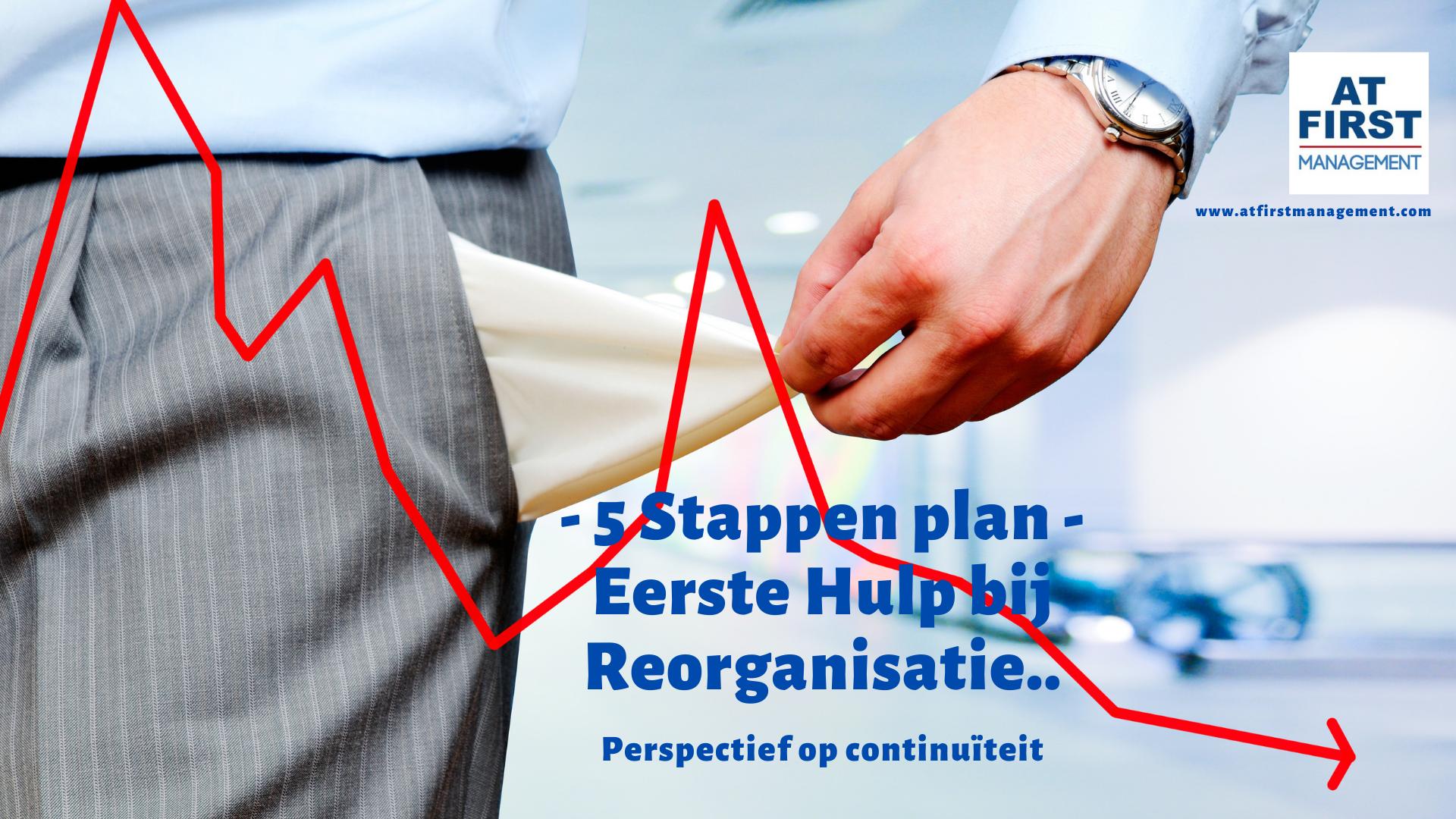 Reorganisatie plan